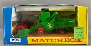 Matchbox King Size No. K-9 Combine Harvester