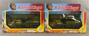 Group of 2 Matchbox Battle Kings No. K-113