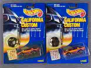 Group of 2 Hot Wheels California Custom Camaro