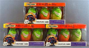 Group of 3 Matchbox Creature Cars 3-packs