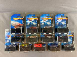 Group of 13 Hot Wheels Mystery Cars