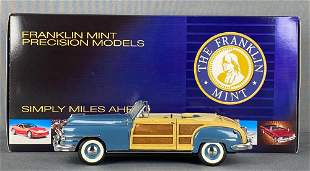 Franklin Mint Precision Models 1948 Chrysler Town and