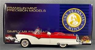 Franklin Mint Precision Models 1955 Ford Sunliner