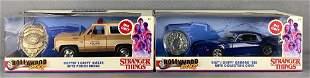 Group of 2 Jada Toys Hollywood Rides Stranger Things