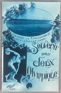 Postcard-1924 Olympics