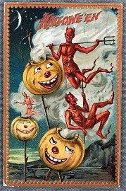 Postcard - Halloween Tuck