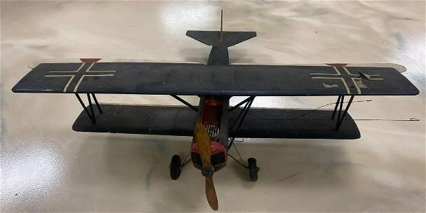 Fokker D-VII Model Airplane-assembled