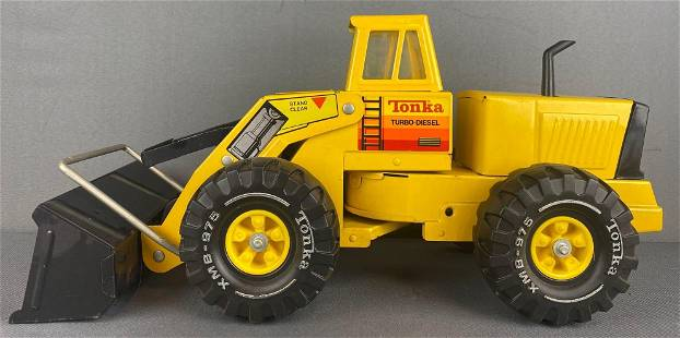 Tonka Toys Turbo-Diesel Front End Loader