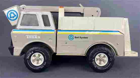 Tonka Toys Bell System Bucket Truck