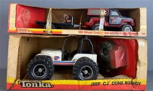 Group of 2 Tonka Toy vehicles