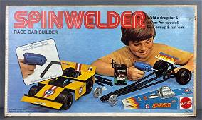 Mattel Spinwelder Race Car Builder
