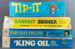 Group of 4 assorted board games