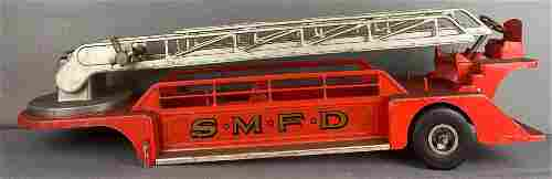 Smith Miller Smitty Toys Pressed Steel Aerial Ladder