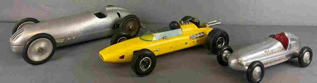 Group of 3 Gas Motor race car toys