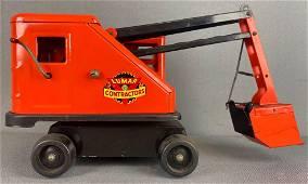 Marx pressed steel Lumar Contractors Steam Shovel