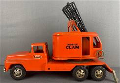 Tonka Toys pressed steel Mobile Clam Truck