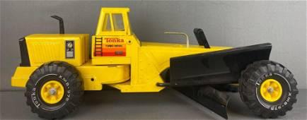 Tonka Toys pressed steel Turbo Diesel Road Grader