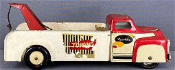 Wyandotte Tin Litho Tow Truck