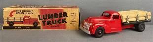 Hubley Kiddie-Toy die-cast Lumber Truck