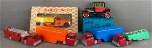 6 piece group of assorted vehicles