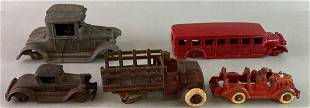Arcade Hubley Antique Cast Iron Cars