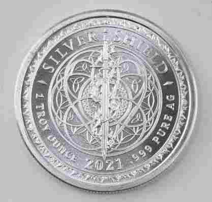 2021 Freedom Silver Shield 1oz. .999 Fine Silver