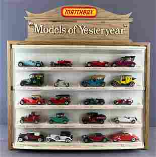Matchbox Models of Yesteryear Display-Full