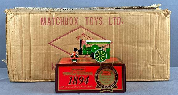 Full shipping box of Matchbox Models of Yesteryear No.