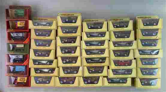 Group of 61 Matchbox Models of Yesteryear Die Cast