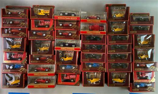 Group of 70 Matchbox Models of Yesteryear Die Cast