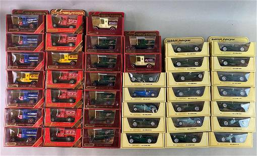 Group of 54 Matchbox Models of Yesteryear Die Cast