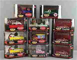 Group of 11 Matchbox Collectibles die cast vehicles