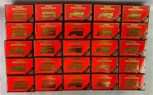 Group of 25 Matchbox Models of Yesteryear Die Cast