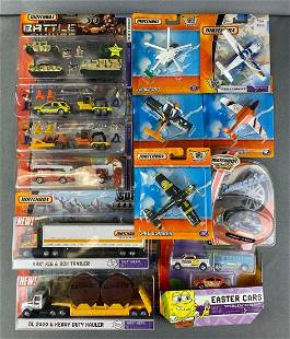 Group of Matchbox Vehicles and Sets