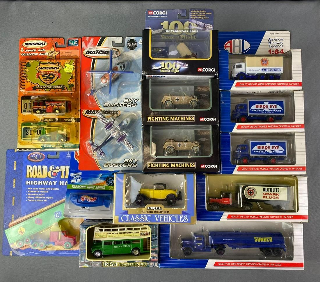 Group of Die Cast Vehicles