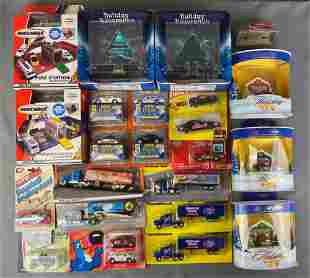 Group of Die Cast Vehicles and Sets
