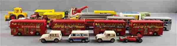 Group of 22 die cast vehicles