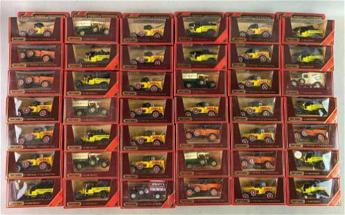 Group of 57 Matchbox Models of Yesteryear Die Cast