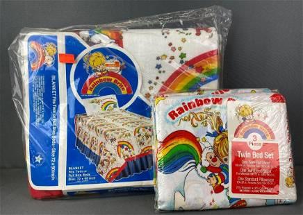 Group of 2 Rainbow Brite Bedding