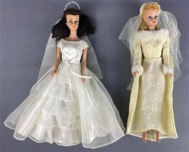 Group of 2 Bridal Barbie Fashion Dolls