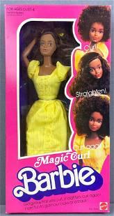 Magic Curl Barbie Fashion Doll
