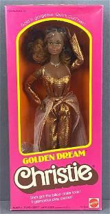 Golden Dream Christie Barbie Fashion Doll