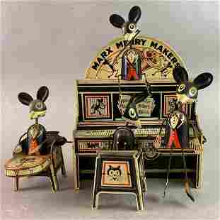 Marx Merry Makers Wind Up Tin Toy