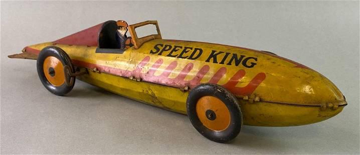 Marx Speed King Wind Up Tin Toy