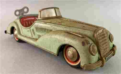 US Zone Germany Wind Up Tin Toy Car
