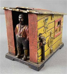 Black Americana cast iron mechanical bank