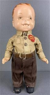 Lion Uniform advertising doll-Shell Oil