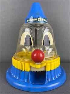 Charm Circus Ring Ding Clown One Cent Gumball Machine