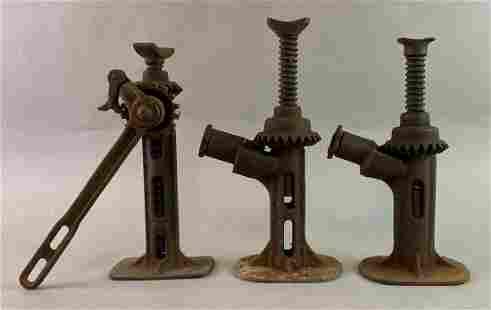 Group of 3 Antique Automobile Jacks