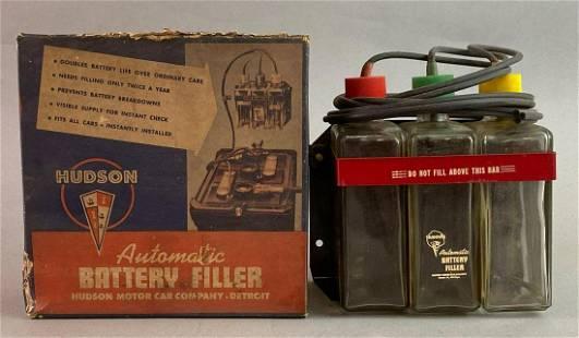Hudson Automobile Automatic Battery Filler